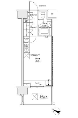イプセ学芸大学803号室