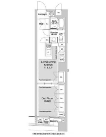 BPRレジデンス渋谷409号室