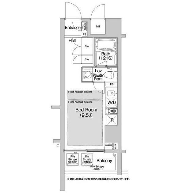 BPRレジデンス渋谷503号室