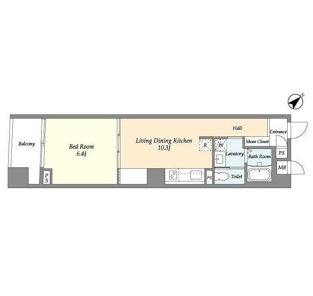 BPRレジデンス渋谷809号室