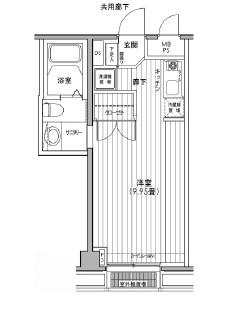 カスタリア都立大学203号室