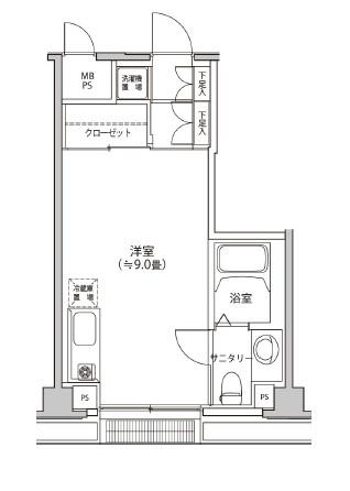 カスタリア都立大学305号室