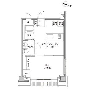 カスタリア都立大学601号室