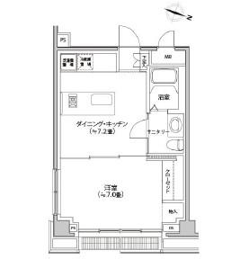 カスタリア都立大学606号室