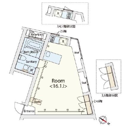 カスタリア恵比寿302号室
