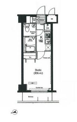 コンフォリア・リヴ木場公園607号室