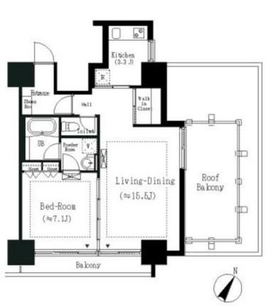 エルスタンザ白金301号室