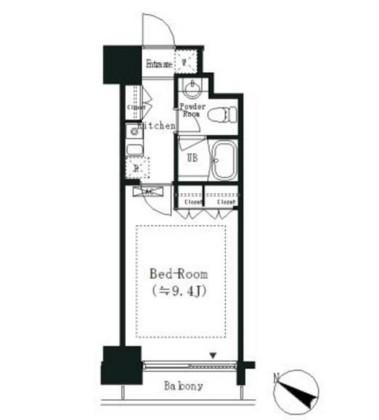 エルスタンザ白金406号室