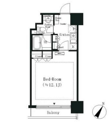 エルスタンザ白金504号室