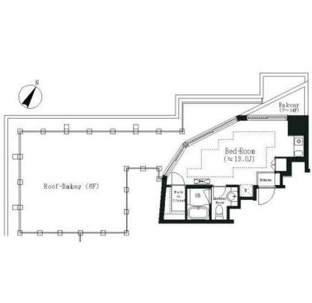 エルスタンザ白金703号室
