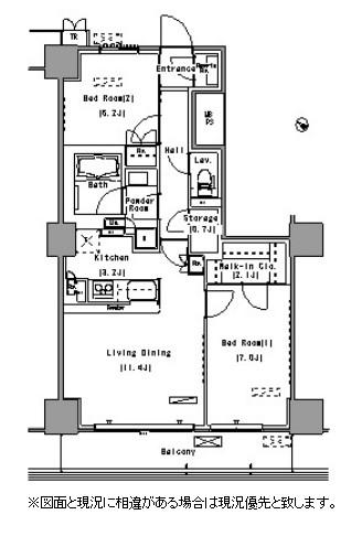 パークアクシス豊洲1303号室