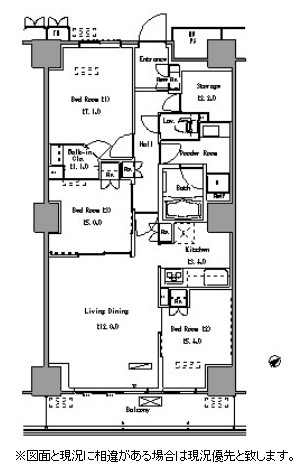 パークアクシス豊洲1309号室