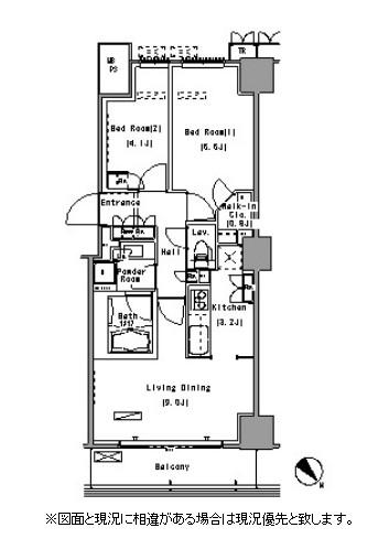 パークアクシス豊洲1412号室