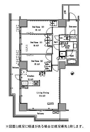 パークアクシス豊洲604号室
