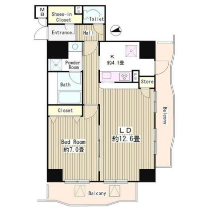 アルブル高輪1204号室