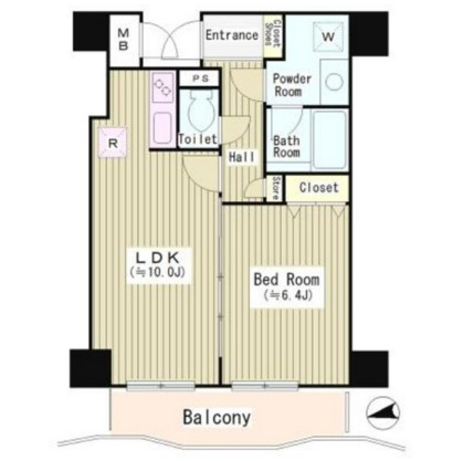 アルブル高輪405号室