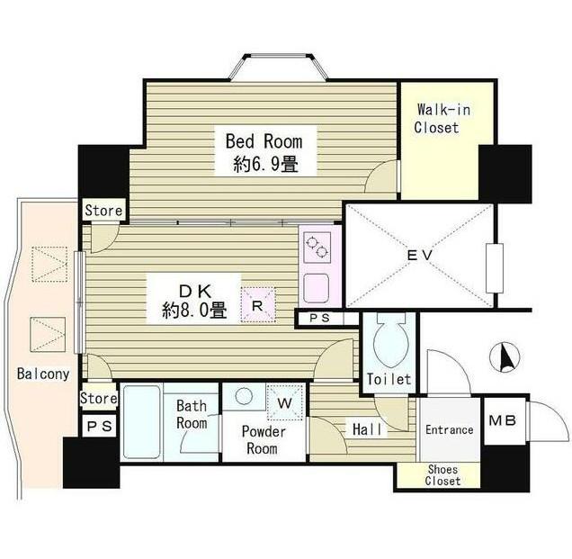 アルブル高輪406号室