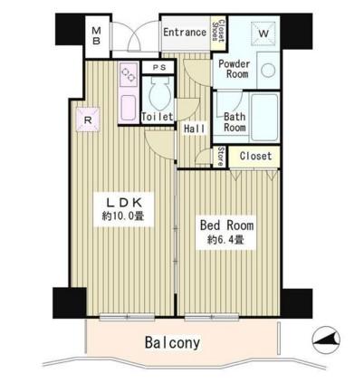 アルブル高輪705号室