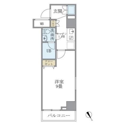 KDXレジデンス西新宿707号室