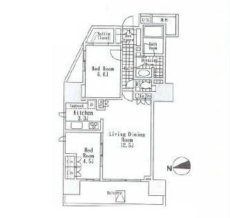 アルビン六本木レジデンス1001号室