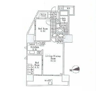 アルビン六本木レジデンス1401号室