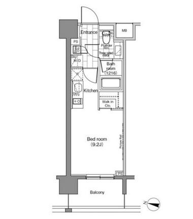 パークハビオ恵比寿1204号室