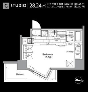 パークハビオ恵比寿609号室