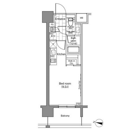 パークハビオ恵比寿802号室