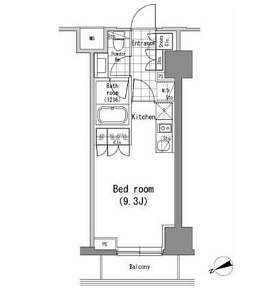 パークハビオ新橋1202号室