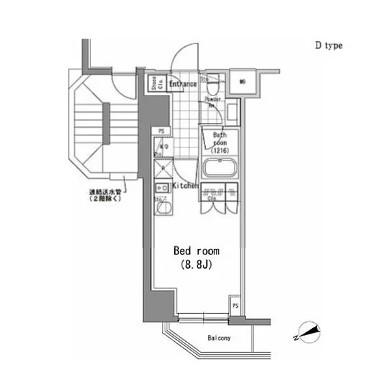 パークハビオ新橋401号室
