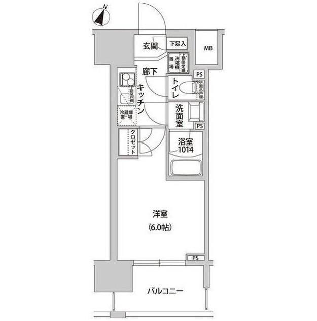 ラクラス幡ヶ谷603号室