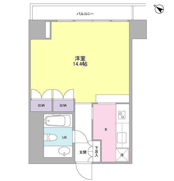 フォレストタウン参宮橋1003号室