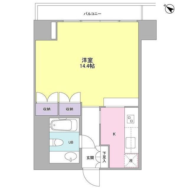 フォレストタウン参宮橋703号室
