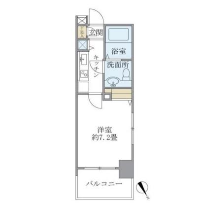 レジデンシア麻布十番601号室