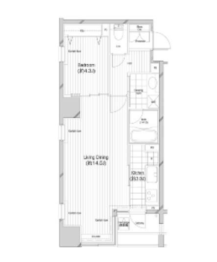 コンフォリア二番町1502号室