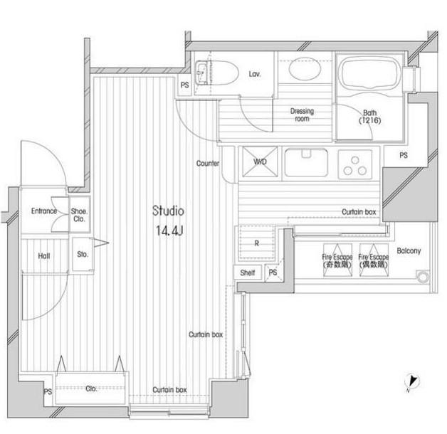 コンフォリア二番町1503号室