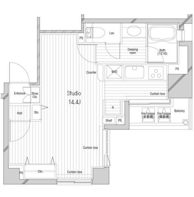 コンフォリア二番町203号室