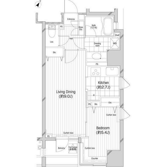 コンフォリア二番町401号室