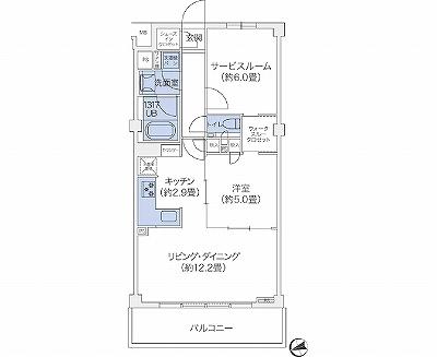 代官山BLESS鉢山104号室