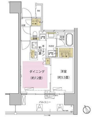 ザ・パークハウス渋谷美竹605号室