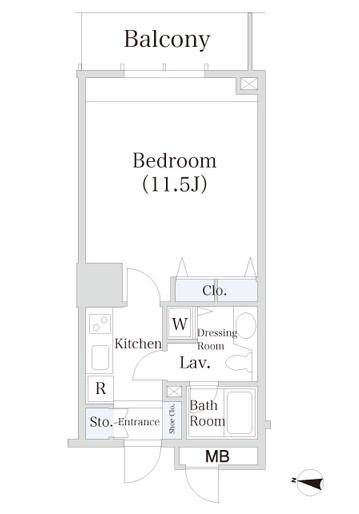 小石川シティハイツ803号室