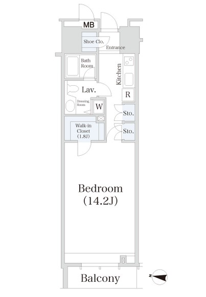小石川シティハイツ806号室