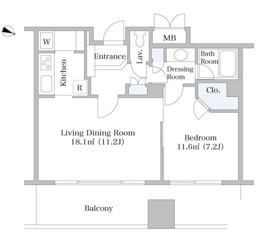 千代田ファーストハイツ1507号室