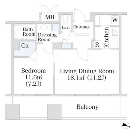 千代田ファーストハイツ1706号室