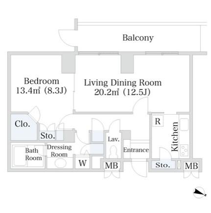 千代田ファーストハイツ1722号室
