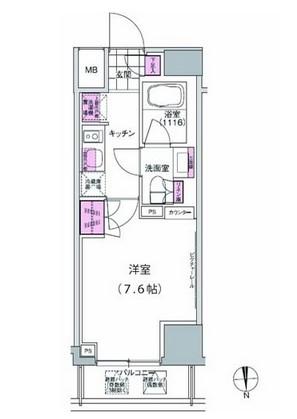 プレジリア東日本橋308号室