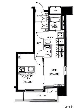 コンフォリア西早稲田101号室