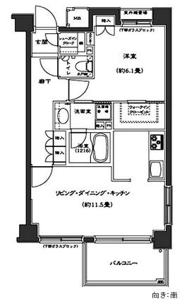 コンフォリア西早稲田305号室