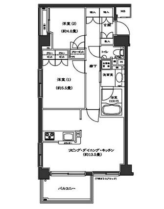 コンフォリア西早稲田406号室