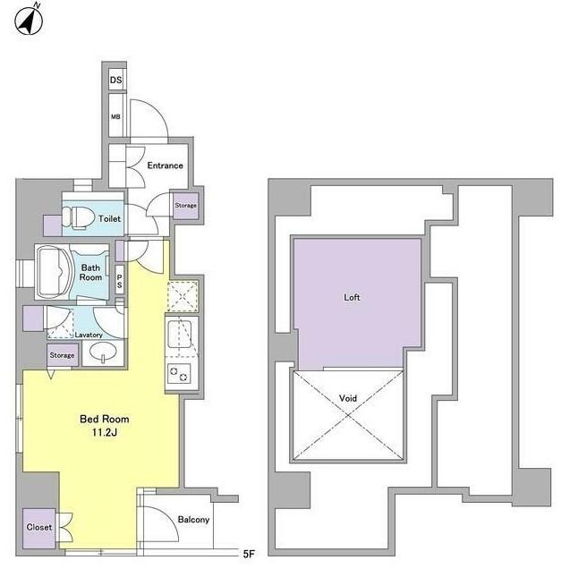 サンピエス市ヶ谷501号室